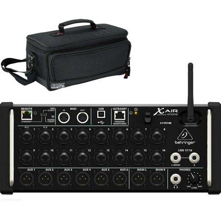 behringer x air xr18 tablet controlled digital mixer with free gator case. Black Bedroom Furniture Sets. Home Design Ideas