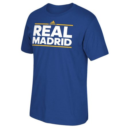 Real Madrid Royal Blue Dassler T-Shirt