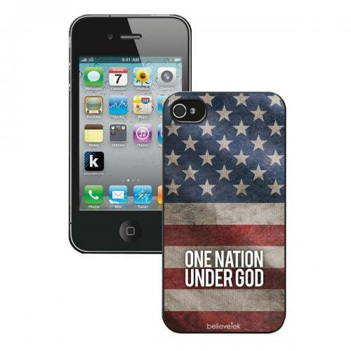 America Flag iPhone 4/4s Case
