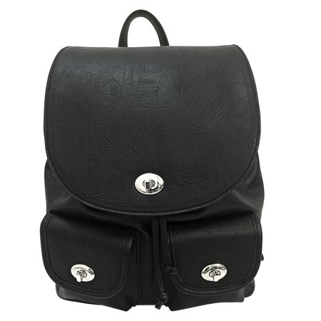 Concealed Carry Womens Backpack Black