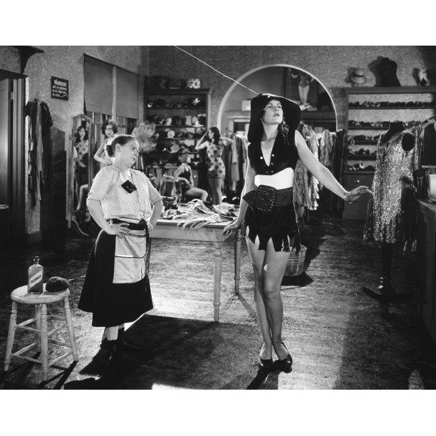 Silent Film Still Woman By Granger: Silent Film Still: Fashion. /Ndaphne Pollard And Ardith