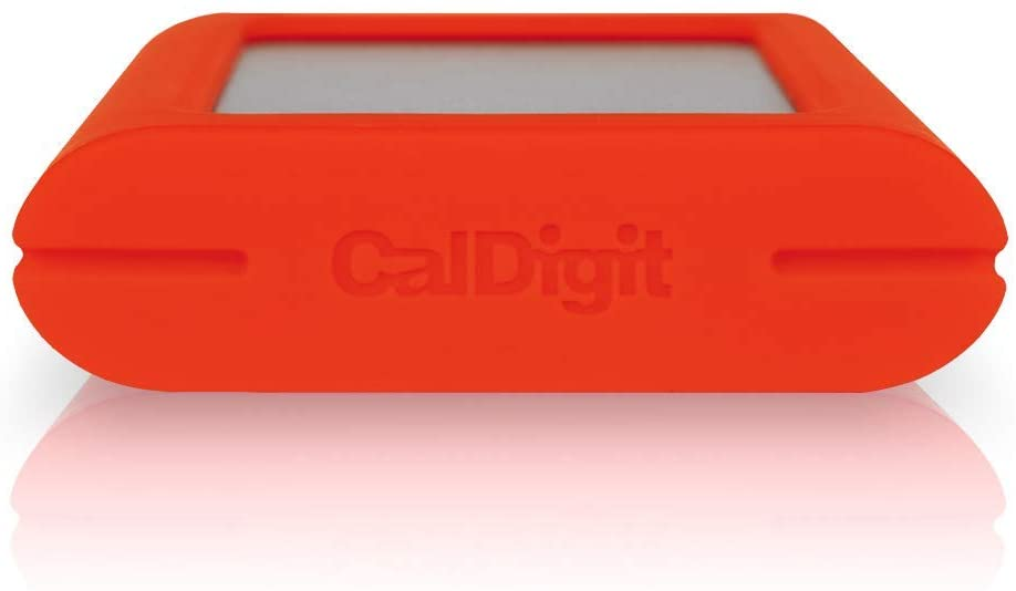 Compatible with Thunderbolt 3 Mac and PC Up to 1055MB//s CalDigit Tuff Nano 1TB, Tomato Red Compact Rugged IP67 USB-C 3.2 Gen 2 10Gb//s External NVME SSD