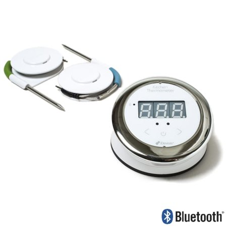 iDevices IKT0002P5 Kitchen Smart Thermometer with Two Probes and ...