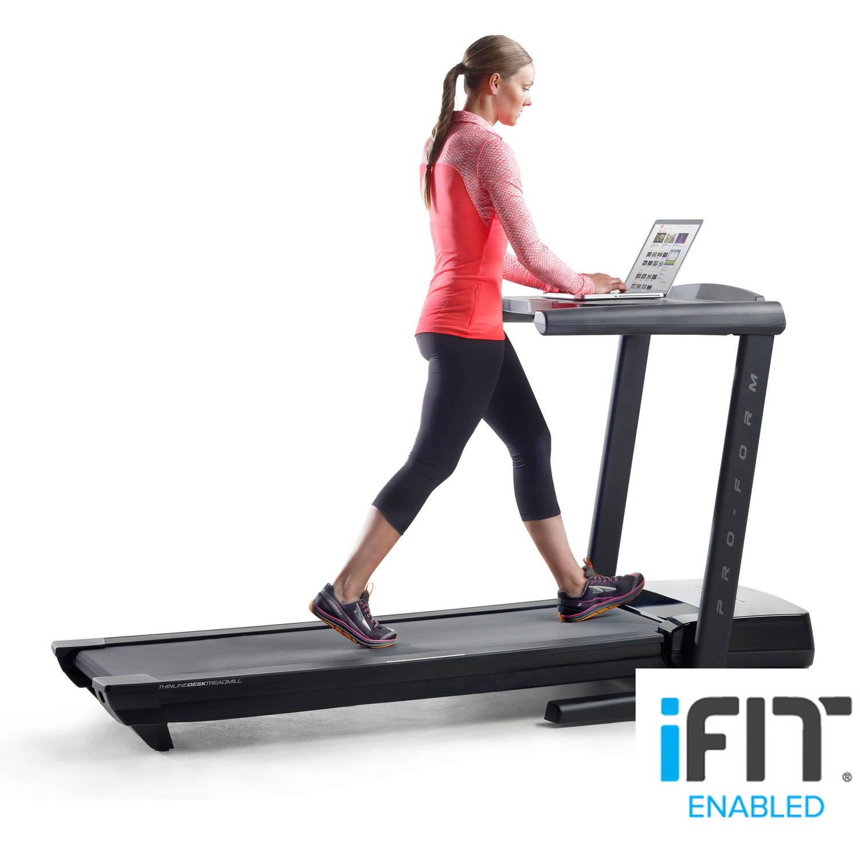 ProForm Thinline Desk Treadmill