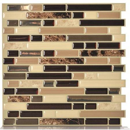 Smart Tiles Original Peel   Stick Wall Tile. Smart Tiles Original Peel   Stick Wall Tile   Walmart com
