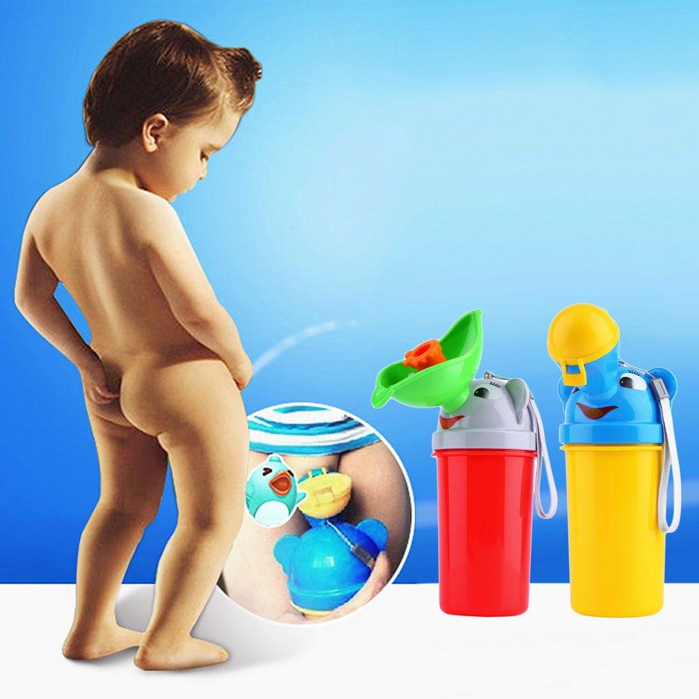 Cute Baby Girl Boy Portable Urinal Travel Car Toilet Kids Vehicular Potty
