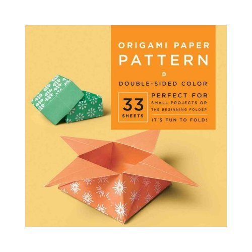 "Origami Paper Pattern 6 3/4"" 33 Sheets"