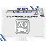2021 Topps Series 2 Baseball Trading Cards Blaster Box- 1 Exclusive Relic Box Manufactured Item card