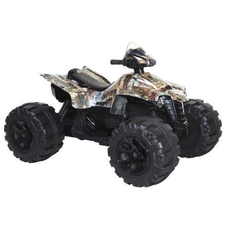 surge mega wheels xl quad boys 39 12 volt battery powered ride on camo. Black Bedroom Furniture Sets. Home Design Ideas