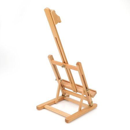 HURRISE Adjustable Height 106cm Tabletop Wood Studio H-Frame Easel Artist Painting Tool, Adjustable Easel, Wood Easel - image 11 of 12