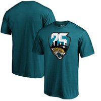 Jacksonville Jaguars NFL Pro Line by Fanatics Branded 25th Season T-Shirt - Teal