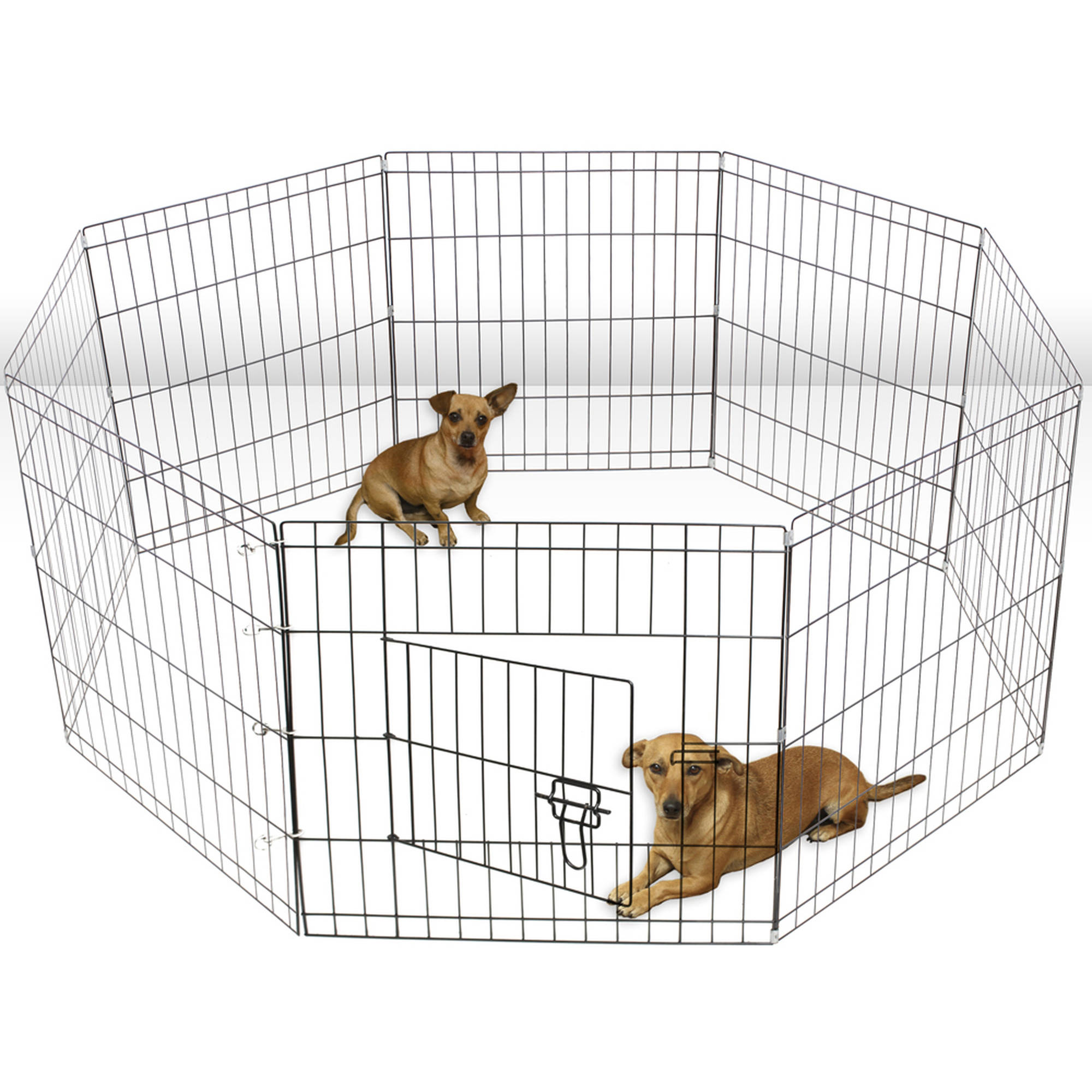 Oxgord Paws & Pals Large Hammigrid Wire Folding 8-Panel Pop-Up ...