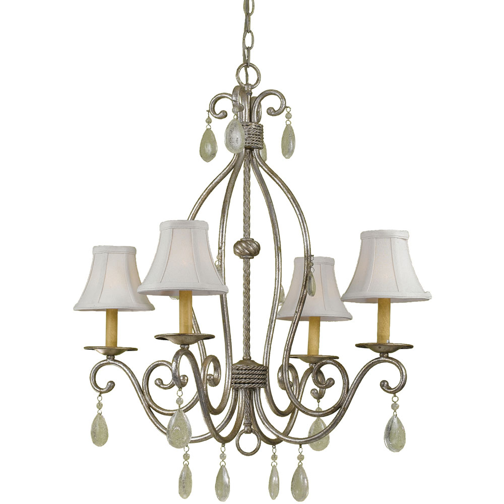 Morgan Four Light Chandelier
