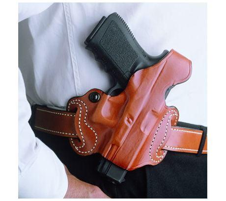 DeSantis Thumb Break Mini Slide Holster Left, Black For Glock 17, by Desantis