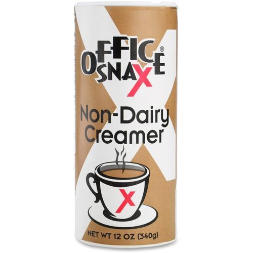 00020CT Office Snax 12oz Canister Non-dairy Creamer - 340...