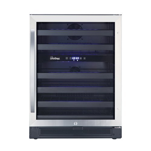 Vinotemp 46 Bottle Dual Zone Wine Cooler