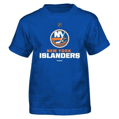 New York Islanders Reebok Preschool Clean Cut T-Shirt - Royal Blue