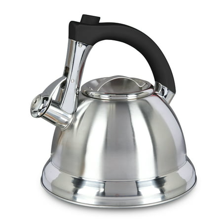 Mr. Coffee Collinsbrook 2.4 Qt Whistling Tea Kettle,