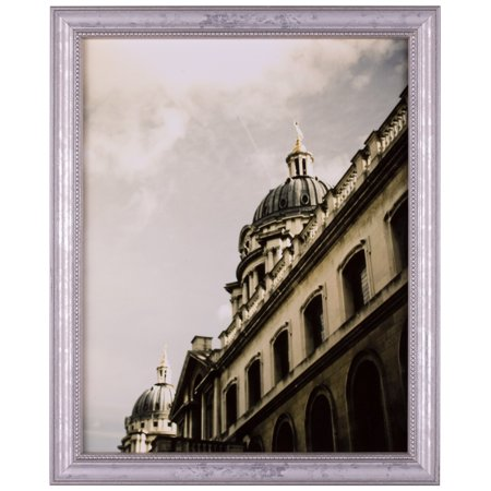 Craig Frames 314SI, 12 x 12 Inch Ornate Picture Frame, Silver