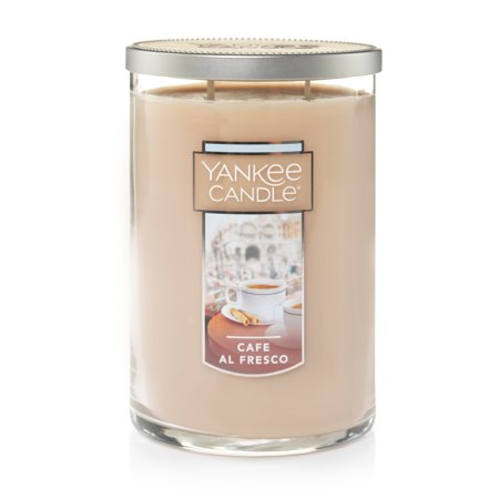 Yankee Candle Large 2-Wick Tumbler Scented Candle, Café Al Fresco