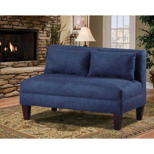 Carolina Accents Briley Armless Loveseat by