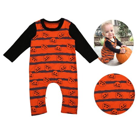 Newborn Baby Boy Halloween Costume Romper Bodysuit Jumpsuit Clothes Outfit PR - 1 Year Old Baby Boy Halloween Costumes