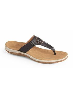 Acorn Women's VISTA BEADED Comfort Blue Sandals 9 M