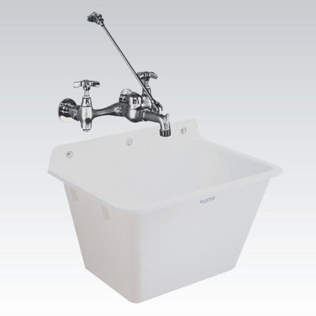 Mustee Utilatub 16 Single Basin Wall Mount Utility Sink China Wall Mount Basin