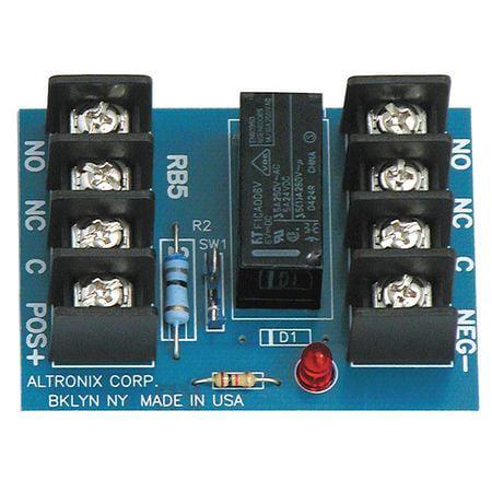 ALTRONIX RB5 Relay Module 6/12VDC 120Ma DPDT