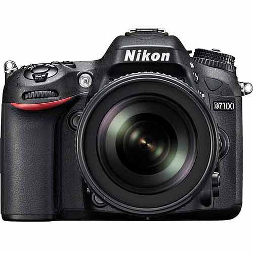 Nikon Black D7100 Digital HD SLR Camera with 24.1 Megapixels and 18-140mm Lens Included