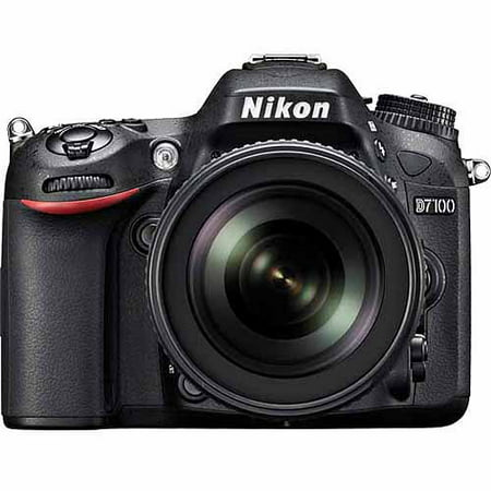 Nikon Black D7100 Digital HD SLR Camera with 24.1 Megapixels and 18-140mm Lens Included