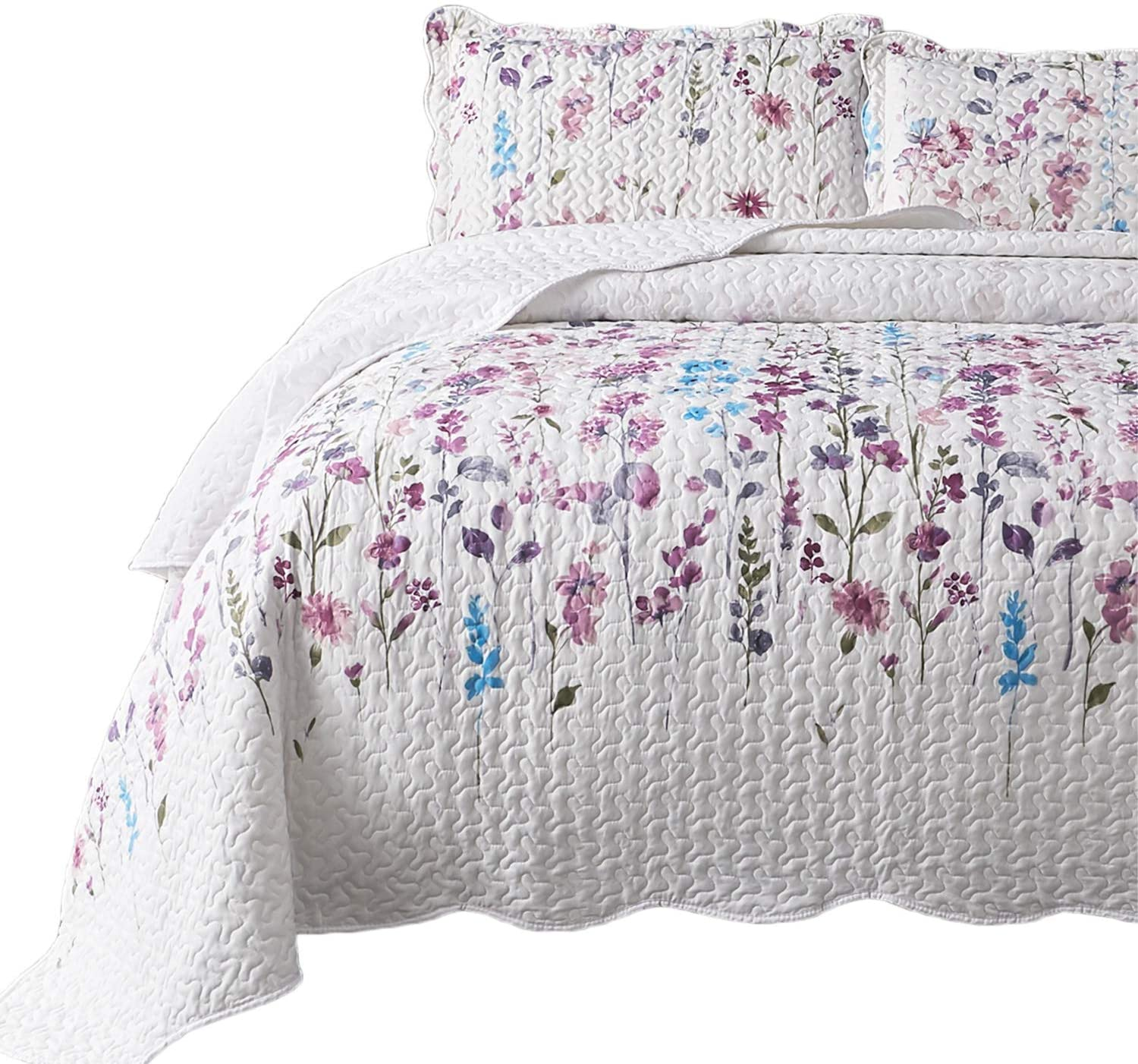 King size bed quilt by QuiltedDelight | Quilt bedding