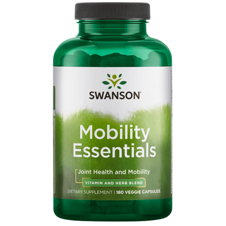 - Swanson Mobility Essentials 180 Veg Caps
