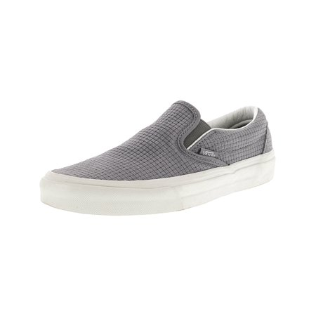 d9eff6ca10 Vans - Vans Classic Slip-On Braided Suede Wild Dove Ankle-High  Skateboarding Shoe - 7.5M   6M - Walmart.com
