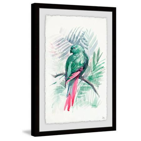 Blissful Bird Framed Painting Print ()