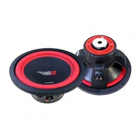 Cerwin Vega V124DV2 4 Ohm 1300W Dual 12 in. Vega Series Car Subwoofers