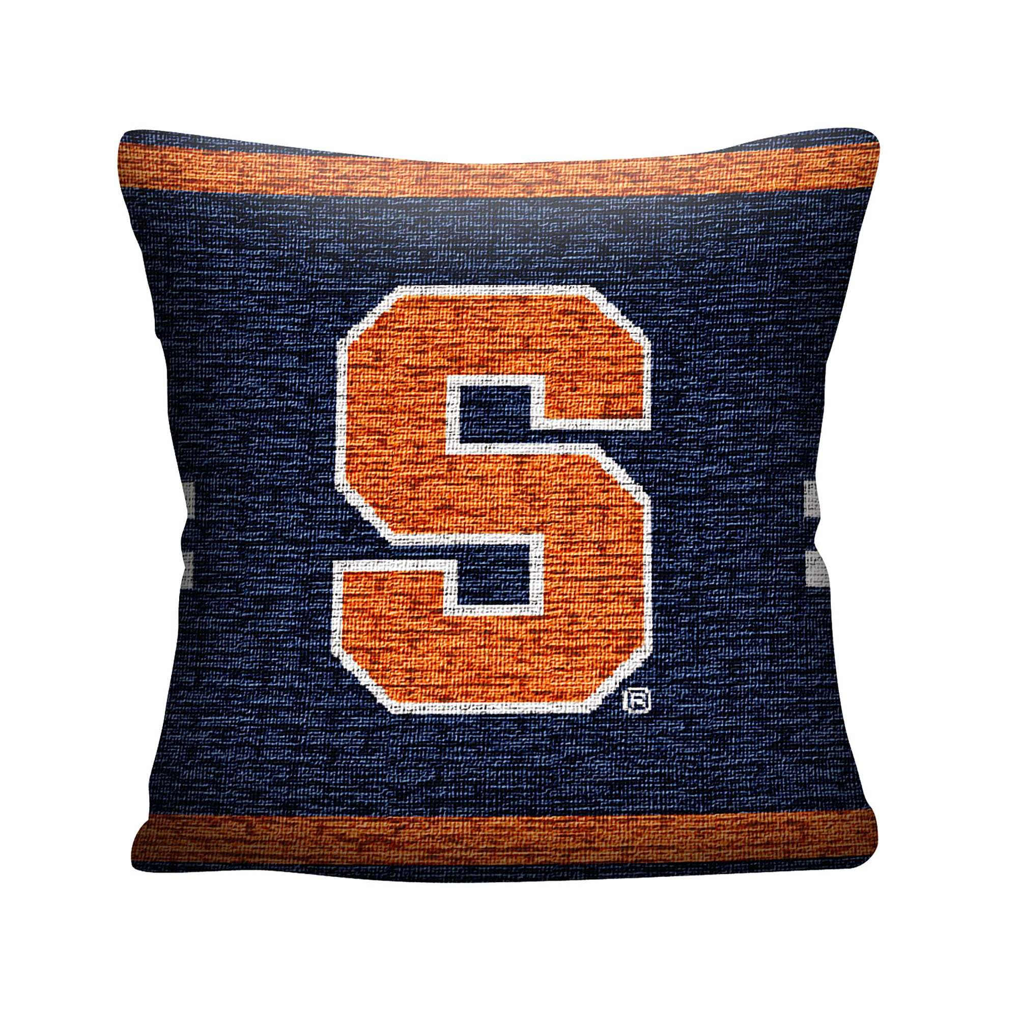 "NCAA Syracuse University 20"" Square Decorative Woven Pillow by The Northwest Company"