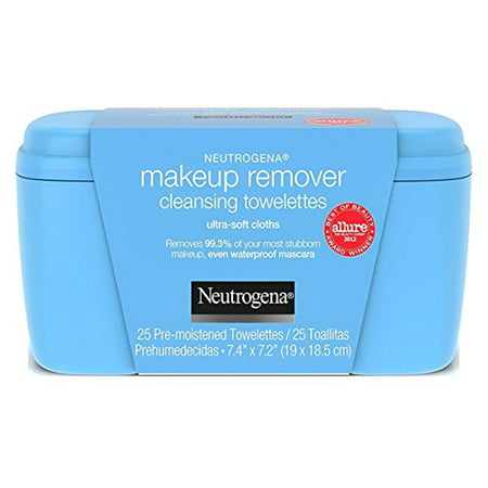 Neutrogena Makeup Remover Cleansing Towelettes, Refill Pack, 25
