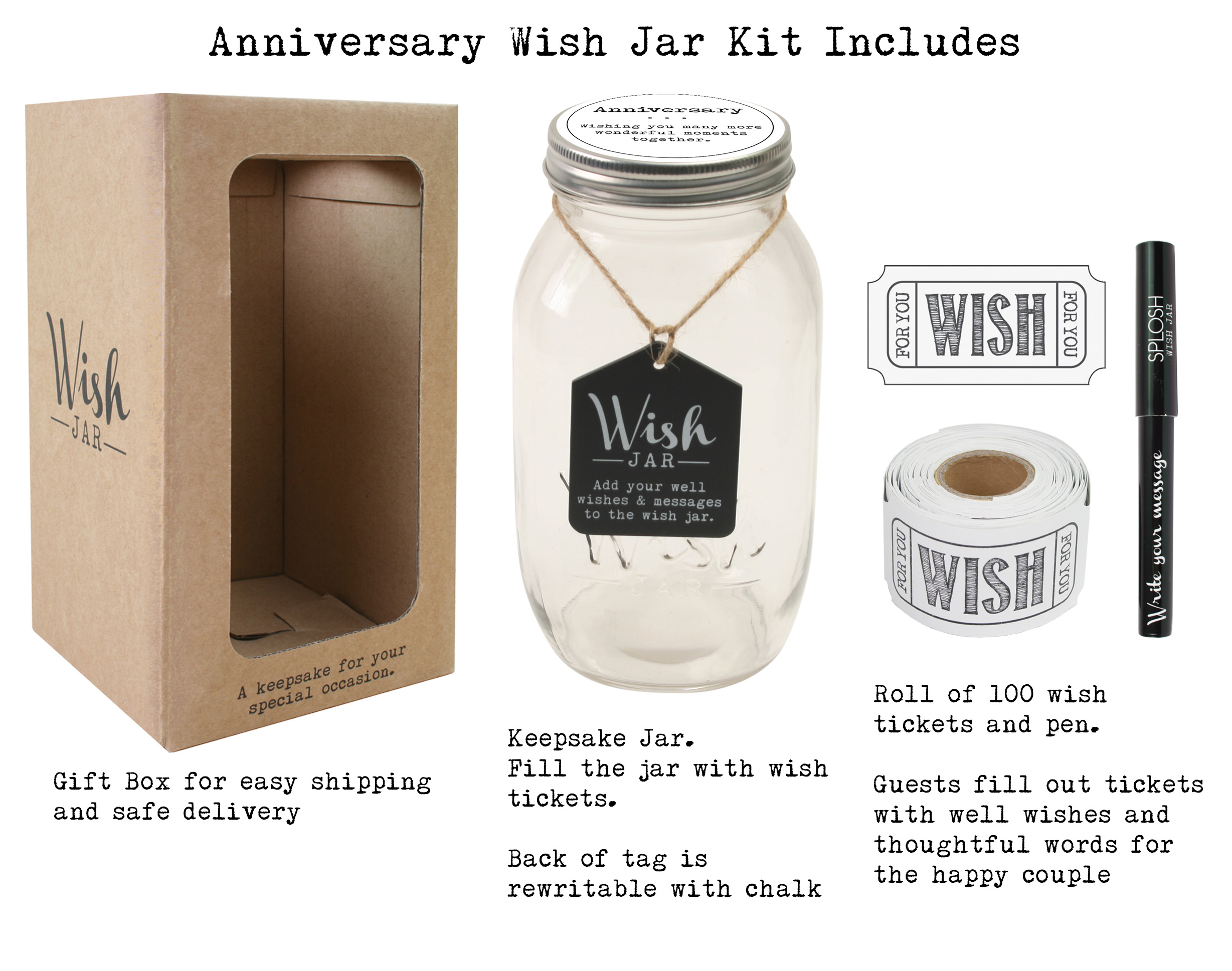 Top Shelf Anniversary Wish Jar ; Personalized Gift Idea for Couples ; Unique and Thoughtful Gifts  sc 1 st  Walmart & Top Shelf Anniversary Wish Jar ; Personalized Gift Idea for Couples ...