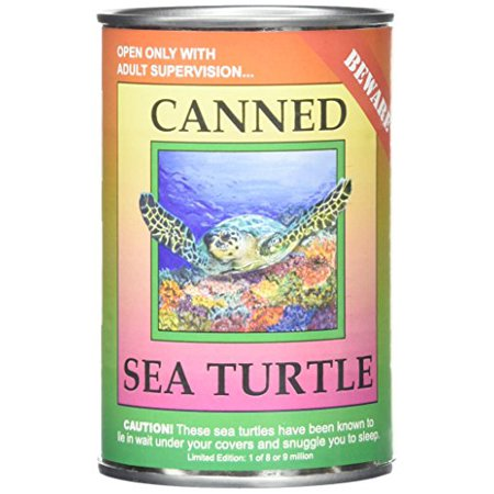 """Canned Critters Stuffed Animal: Sea Turtle 6"""" - image 1 of 2"""
