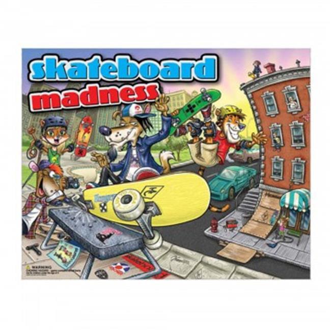 Bulk Buys OS876-12 Skateboard Madness Board Game - 12 Piece