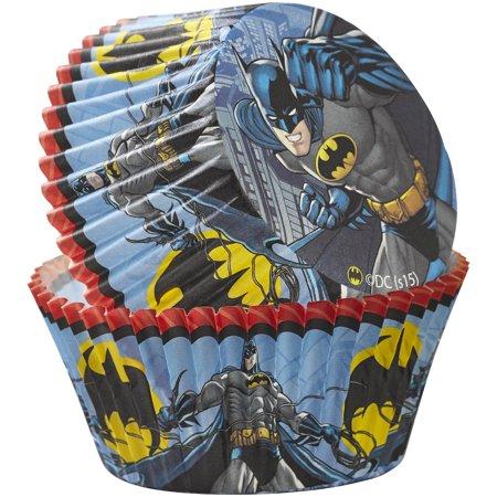 Wilton Batman Cupcake Liners, - Batman Cupcake Liners