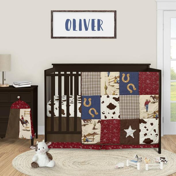 Wild West Western Horse Cowboy Baby, Western Baby Bedding Crib Sets