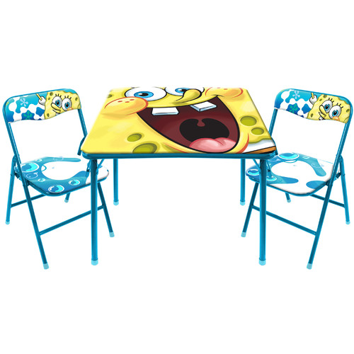 Nickelodeon Spongebob Activity Table and Chair Set by Idea Nuova