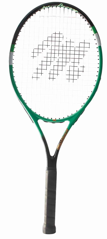 """MacGregor Recreational Tennis Racquet 27""""L 4 1 2"""" Grip (Green Black) by BSN Sports"""