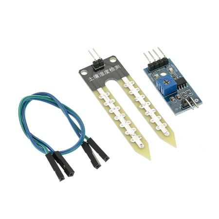 5pcs Soil Humidity Hygrometer Moisture Detection Sensor Module Automatic Watering System for Arduino - image 3 de 7
