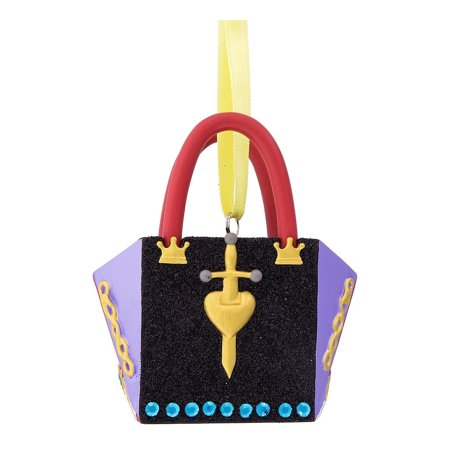 Disney Parks Evil Queen Purse Handbag Christmas Resin Ornament New with Tags