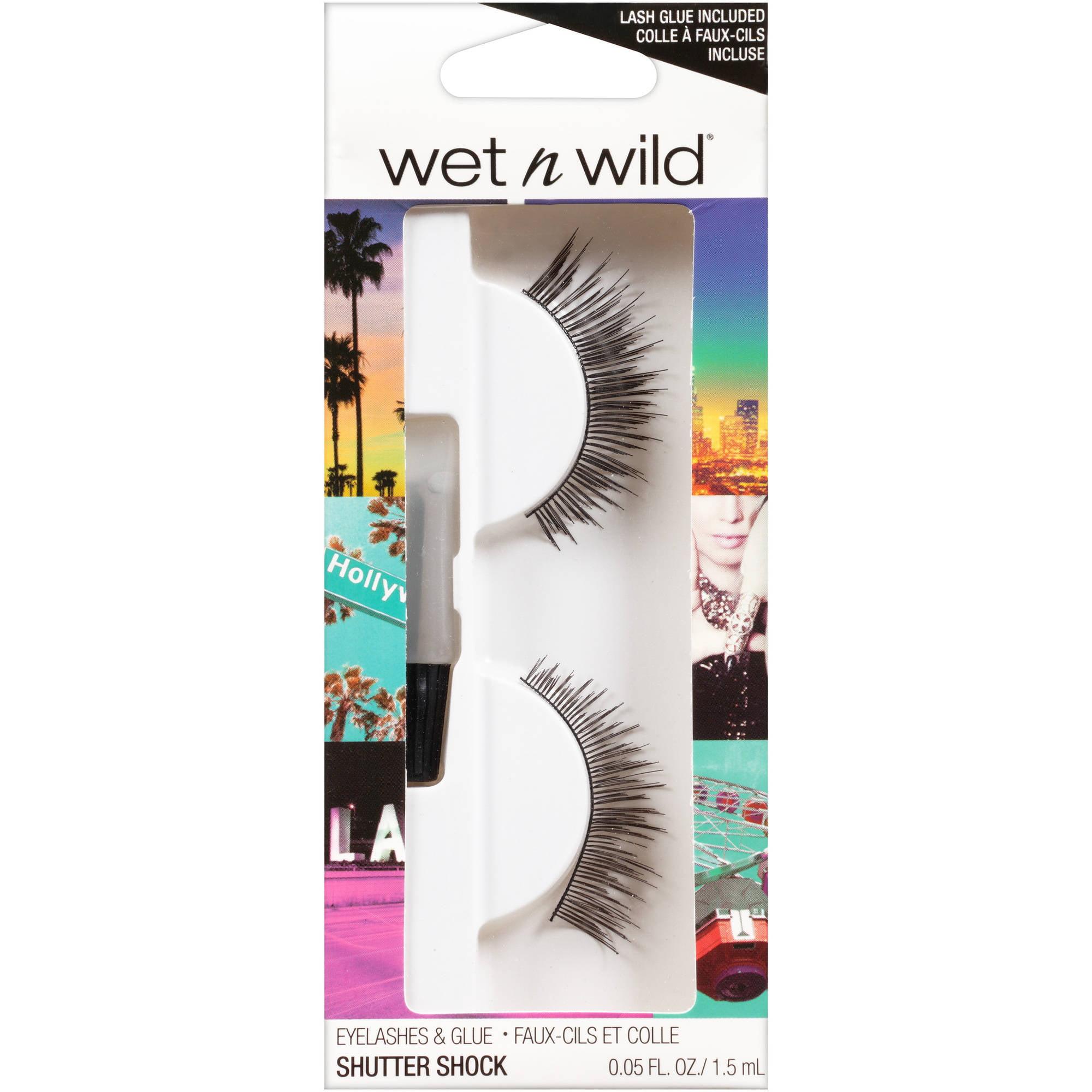 Wet n Wild Eyelashes & Glue, C972A Shutter Shock, 0.05 fl oz