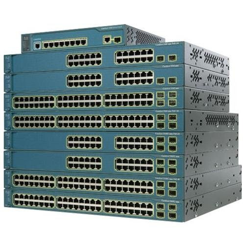 Cisco WS-C3560V2-24PS-S Catalyst 3560V2 24 10 100 PoE by Cisco