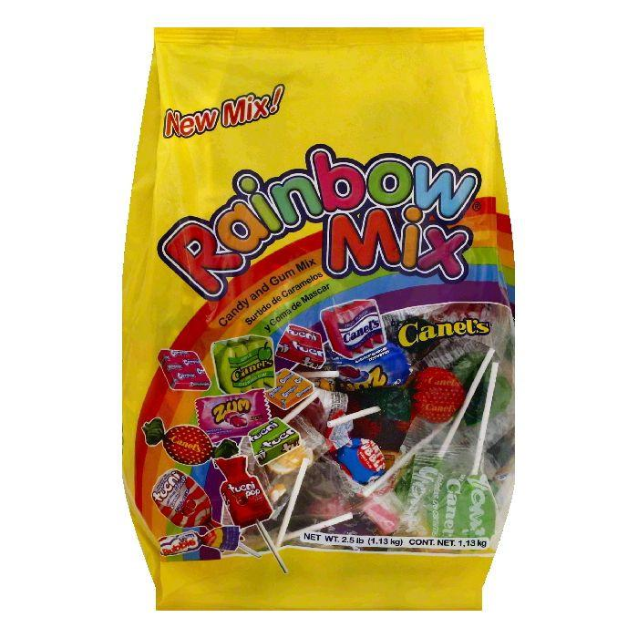 Canels Rainbow Mix Candy and Gum, 2.5 lbs